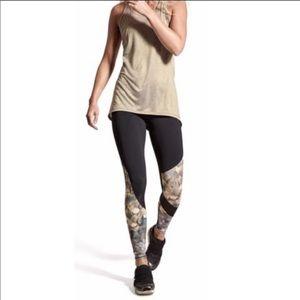 ATHLETA Sonar Asymmetrical Mesh Leggings